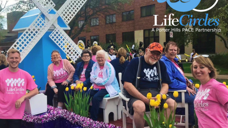 Celebrating Older Americans in Tulip Time Parade